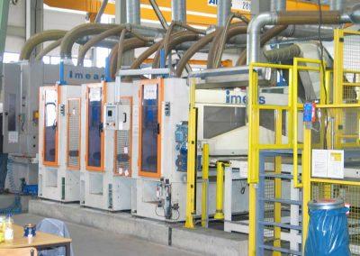 Absauganlagen für Schleif- und Bürstenmaschinen