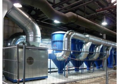 Airtec Absauganlagen: Absauganlagen in Reihenschaltung