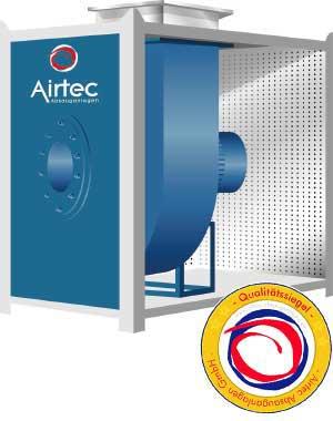 Radialventiloatoren: Transport von Luft und Staub in Absauganlagen