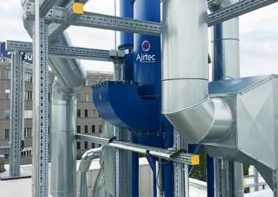 Absauganlage ATEX zur Titan- und Aluminiumstaubabsaugung