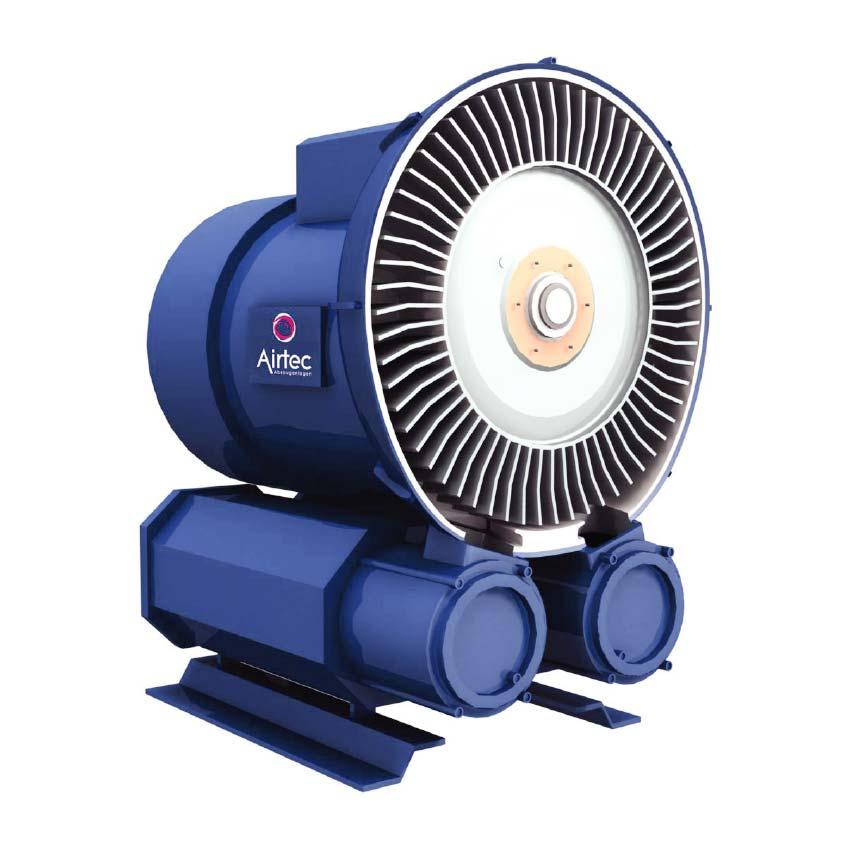 Seitenkanalverdichter als Luftstromerzeuger